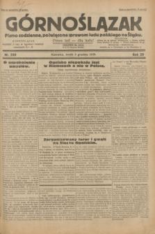Górnoślązak : pismo codzienne, poświęcone sprawom ludu polskiego na Śląsku.R.29, nr 280 (3 grudnia 1930)