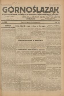 Górnoślązak : pismo codzienne, poświęcone sprawom ludu polskiego na Śląsku.R.29, nr 282 (5 grudnia 1930) + dod.