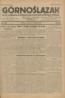 Górnoślązak : pismo codzienne, poświęcone sprawom ludu polskiego na Śląsku.R.29, nr 284 (7 grudnia 1930)