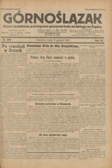 Górnoślązak : pismo codzienne, poświęcone sprawom ludu polskiego na Śląsku.R.29, nr 285 (10 grudnia 1930) + dod.