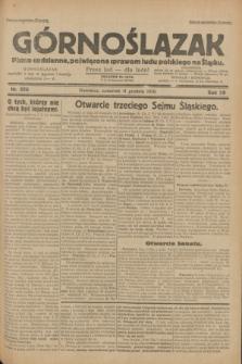 Górnoślązak : pismo codzienne, poświęcone sprawom ludu polskiego na Śląsku.R.29, nr 286 (11 grudnia 1930)