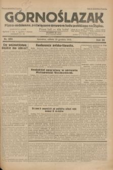 Górnoślązak : pismo codzienne, poświęcone sprawom ludu polskiego na Śląsku.R.29, nr 294 (20 grudnia 1930)