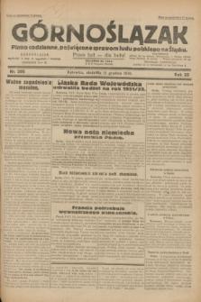 Górnoślązak : pismo codzienne, poświęcone sprawom ludu polskiego na Śląsku.R.29, nr 295 (21 grudnia 1930)