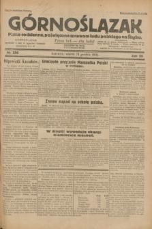 Górnoślązak : pismo codzienne, poświęcone sprawom ludu polskiego na Śląsku.R.29, nr 296 (23 grudnia 1930)