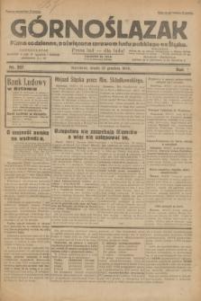 Górnoślązak : pismo codzienne, poświęcone sprawom ludu polskiego na Śląsku.R.29, nr 301 (31 grudnia 1930) + dod.