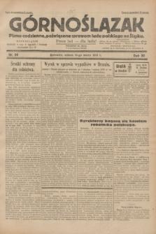 Górnoślązak : pismo codzienne, poświęcone sprawom ludu polskiego na Śląsku.R.30, nr 60 (14 marca 1931)