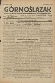 Górnoślązak : pismo codzienne, poświęcone sprawom ludu polskiego na Śląsku.R.30, nr 110 (13 maja 1931)