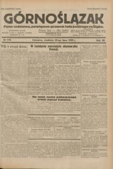 Górnoślązak : pismo codzienne, poświęcone sprawom ludu polskiego na Śląsku.R.30, nr 170 (26 lipca 1931)