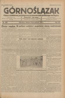 Górnoślązak : pismo codzienne, poświęcone sprawom ludu polskiego na Śląsku.R.30, nr 289 (15 grudnia 1931)