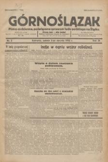 Górnoślązak : pismo codzienne, poświęcone sprawom ludu polskiego na Śląsku.R.31, nr 2 (2 stycznia 1932)