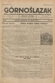 Górnoślązak : pismo codzienne, poświęcone sprawom ludu polskiego na Śląsku.R.31, nr 3 (4 stycznia 1932)