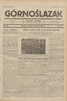 Górnoślązak : pismo codzienne, poświęcone sprawom ludu polskiego na Śląsku.R.31, nr 51 (2 marca 1932)