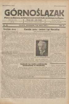 Górnoślązak : pismo codzienne, poświęcone sprawom ludu polskiego na Śląsku.R.31, nr 55 (7 marca 1932)