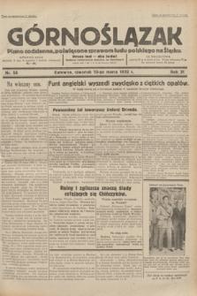Górnoślązak : pismo codzienne, poświęcone sprawom ludu polskiego na Śląsku.R.31, nr 58 (10 marca 1932)