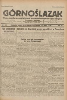 Górnoślązak : pismo codzienne, poświęcone sprawom ludu polskiego na Śląsku.R.31, nr 101 (30 kwietnia i 1 maja 1932)