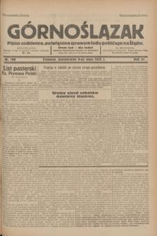 Górnoślązak : pismo codzienne, poświęcone sprawom ludu polskiego na Śląsku.R.31, nr 106 (9 maja 1932)