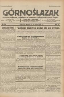 Górnoślązak : pismo codzienne, poświęcone sprawom ludu polskiego na Śląsku.R.31, nr 123 (31 maja 1932)