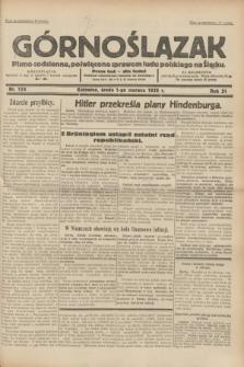 Górnoślązak : pismo codzienne, poświęcone sprawom ludu polskiego na Śląsku.R.31, nr 124 (1 czerwca 1932)
