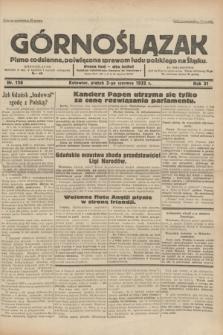 Górnoślązak : pismo codzienne, poświęcone sprawom ludu polskiego na Śląsku.R.31, nr 126 (3 czerwca 1932)