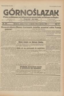 Górnoślązak : pismo codzienne, poświęcone sprawom ludu polskiego na Śląsku.R.31, nr 133 (11 i 12 czerwca 1932)