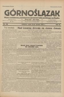 Górnoślązak : pismo codzienne, poświęcone sprawom ludu polskiego na Śląsku.R.31, nr 142 (22 czerwca 1932)