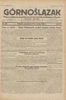 Górnoślązak : pismo codzienne, poświęcone sprawom ludu polskiego na Śląsku.R.31, nr 146 (27 czerwca 1932)