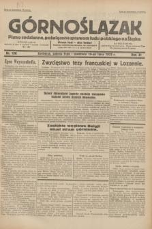Górnoślązak : pismo codzienne, poświęcone sprawom ludu polskiego na Śląsku.R.31, nr 156 (9 i 10 lipca 1932)