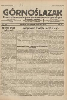 Górnoślązak : pismo codzienne, poświęcone sprawom ludu polskiego na Śląsku.R.31, nr 157 (11 lipca 1932)