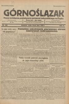 Górnoślązak : pismo codzienne, poświęcone sprawom ludu polskiego na Śląsku.R.31, nr 165 (20 lipca 1932)