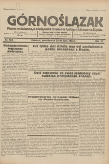 Górnoślązak : pismo codzienne, poświęcone sprawom ludu polskiego na Śląsku.R.31, nr 169 (25 lipca 1932)