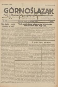 Górnoślązak : pismo codzienne, poświęcone sprawom ludu polskiego na Śląsku.R.31, nr 170 (26 lipca 1932)