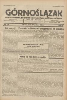 Górnoślązak : pismo codzienne, poświęcone sprawom ludu polskiego na Śląsku.R.31, nr 171 (27 lipca 1932)