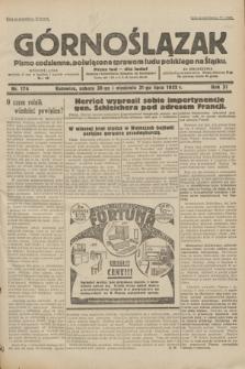 Górnoślązak : pismo codzienne, poświęcone sprawom ludu polskiego na Śląsku.R.31, nr 174 (30 i 31 lipca 1932)