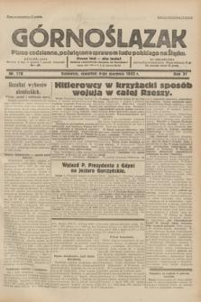 Górnoślązak : pismo codzienne, poświęcone sprawom ludu polskiego na Śląsku.R.31, nr 178 (4 sierpnia 1932)