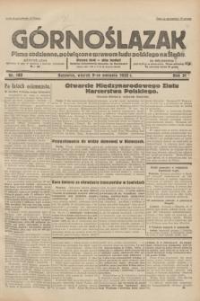 Górnoślązak : pismo codzienne, poświęcone sprawom ludu polskiego na Śląsku.R.31, nr 182 (9 sierpnia 1932)