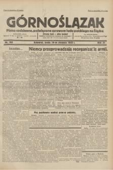 Górnoślązak : pismo codzienne, poświęcone sprawom ludu polskiego na Śląsku.R.31, nr 183 (10 sierpnia 1932)