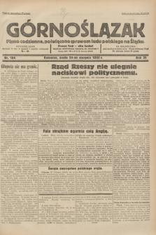 Górnoślązak : pismo codzienne, poświęcone sprawom ludu polskiego na Śląsku.R.31, nr 194 (24 sierpnia 1932)