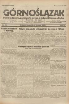 Górnoślązak : pismo codzienne, poświęcone sprawom ludu polskiego na Śląsku.R.31, nr 196 (26 sierpnia 1932)