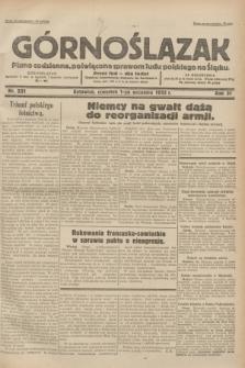 Górnoślązak : pismo codzienne, poświęcone sprawom ludu polskiego na Śląsku.R.31, nr 201 (1 września 1932)