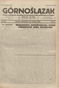 Górnoślązak : pismo codzienne, poświęcone sprawom ludu polskiego na Śląsku.R.31, nr 204 (5 września 1932)