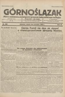 Górnoślązak : pismo codzienne, poświęcone sprawom ludu polskiego na Śląsku.R.31, nr 208 (9 września 1932)