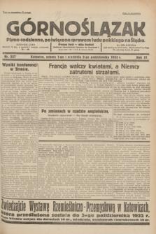 Górnoślązak : pismo codzienne, poświęcone sprawom ludu polskiego na Śląsku.R.31, nr 227 (1 i 2 października 1932)