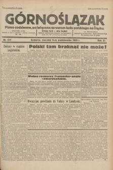 Górnoślązak : pismo codzienne, poświęcone sprawom ludu polskiego na Śląsku.R.31, nr 231 (6 października 1932)