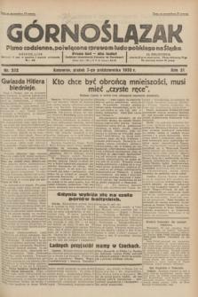 Górnoślązak : pismo codzienne, poświęcone sprawom ludu polskiego na Śląsku.R.31, nr 232 (7 października 1932)