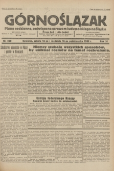 Górnoślązak : pismo codzienne, poświęcone sprawom ludu polskiego na Śląsku.R.31, nr 239 (15 i 16 października 1932)