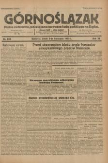 Górnoślązak : pismo codzienne, poświęcone sprawom ludu polskiego na Śląsku.R.31, nr 253 (2 listopada 1932)