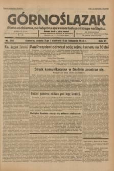 Górnoślązak : pismo codzienne, poświęcone sprawom ludu polskiego na Śląsku.R.31, nr 256 (5 i 6 listopada 1932)