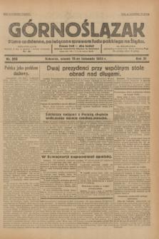 Górnoślązak : pismo codzienne, poświęcone sprawom ludu polskiego na Śląsku.R.31, nr 266 (15 listopada 1932)