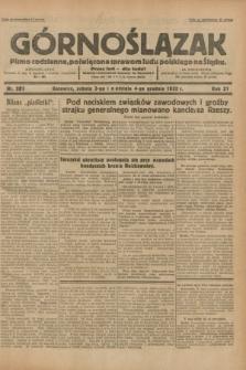 Górnoślązak : pismo codzienne, poświęcone sprawom ludu polskiego na Śląsku.R.31, nr 283 (3 i 4 grudnia 1932)