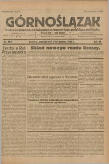 Górnoślązak : pismo codzienne, poświęcone sprawom ludu polskiego na Śląsku.R.31, nr 284 (5 grudnia 1932)